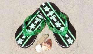 Locals Flip Flops Native Print Mint