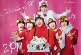 GROUP WEARING ANIMAL HATS POSTER  KOREAN BOY BAND, K POP MUSIC