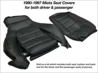 1990 1997 MIATA Replacement Seat Cover Upholstery