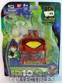 brand new 4 Ben 10 Alien Force action figure featuring Brainstorm
