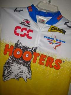 NWT MENS AUSSIE BIKE BICYCLE CYCLING JERSEY SHIRT HOOTERS OWL TEXAS