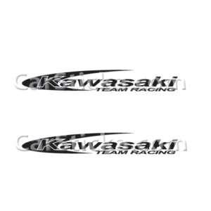 Kawasaki racing car window vinyl sticker decal