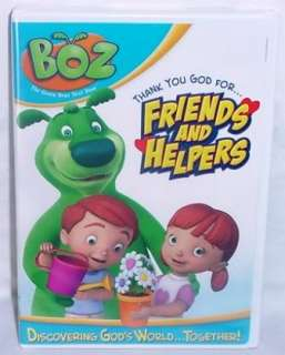 Boz Thank You God For Friends and Helpers NEW DVD