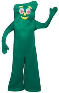 New GUMBY Halloween Adult Funny Mascot Cartoon Costume