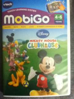 USED   Vtech MobiGo Learning Game Software   Mickey Mouse Clubhouse