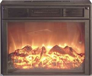 26 Tec Flame Flat Front Electric Fireplace RV, Travel Trailer, Marine