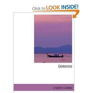 Genoveva (9781103318858) Friedrich Hebbel Books