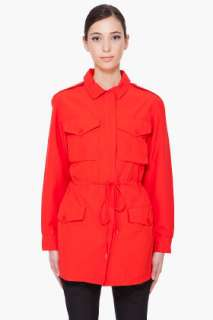 Marc By Marc Jacobs Red Brice Jacket for women