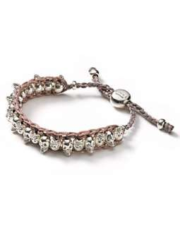 Links of London Woven Skull Friendship Bracelet   All Jewelry
