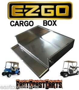 EZGO TXT Golf Cart Aluminum Diamond Plate Cargo Bed / Utility Box