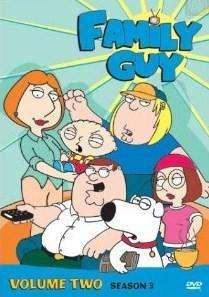 Family Guy Volume 2 Third Season 3 Three DVD Box Set 024543079392