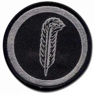 Led Zeppelin Robert Plant Feather Symbol Logo Iron On