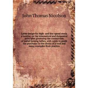 examples from practice: John Thomas. Smith, Dempster, Nicolson: Books
