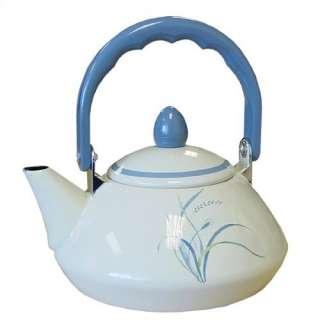 Corelle Coastal Breeze Personal Tea Kettle 38 oz
