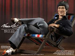 BRUCE LEE CASUAL WEAR HOT TOYS FIGURE SIDESHOW IN STOCK