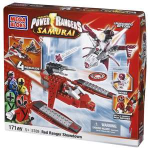 Power Rangers Samurai Red Ranger Showdown Building Blocks & Sets