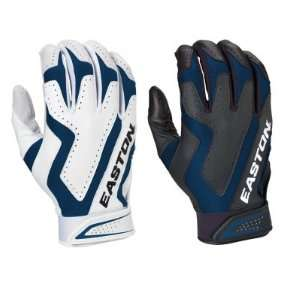Easton Omen Cage 2 Game Adult Batting Gloves (Two Pair)   Medium Royal