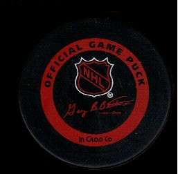 NHL 95 Stanley Cup Playoffs Rare Bettman Game Hockey Puck Check My