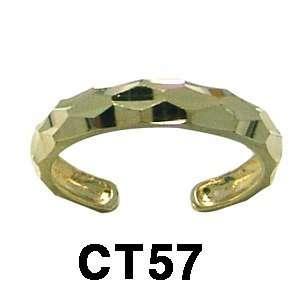 14k Toe Ring (yellow gold) Jewelry
