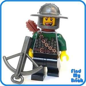 C317 Lego Dragon Knight Minifigure w/ Crossbow 7187 NEW
