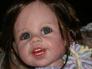 REBORN DOLL ADORABLE M.LEVENIG MASTERPIECE DOLL Painted from Head to