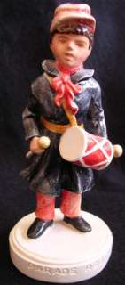Sebastian Parade Rest Boy Civil War Outfit Drummer Figurine