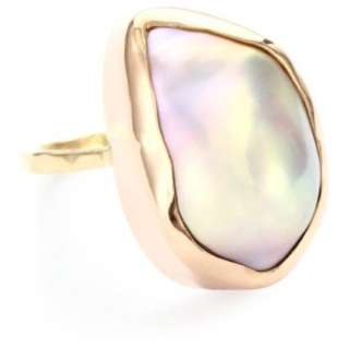 Melissa Joy Manning Not Your Mothers Pearls Baroque Pearl Ring