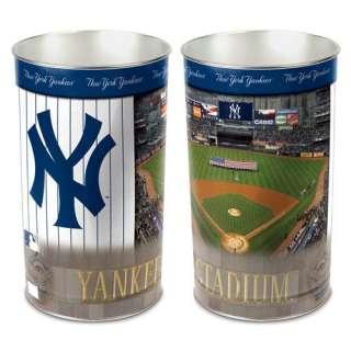 Wincraft, Inc. MLB Tapered Wastebasket   New York Yankees Sports Fan