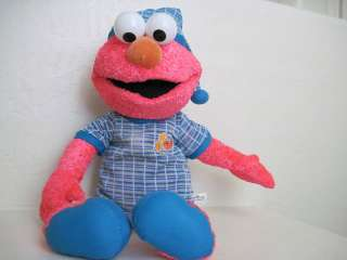 23 Sesame Street ELMO WEARING PAJAMAS Plush