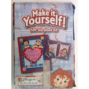 Soft Storybook Kit FILL THE WORLD WITH LOVE Arts, Crafts & Sewing