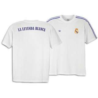 adidas Originals Real Madrid Soccer Team of Spain Mens Tee Shirt NEW
