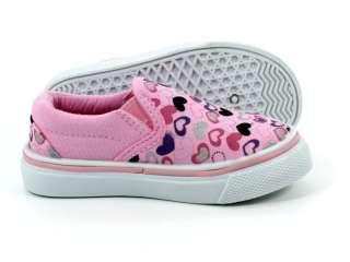/Infants Casual Heart Shape Pattern Sneaker Shoes US #(4   9)