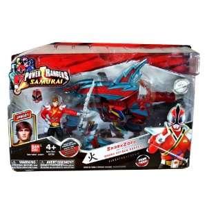 com Bandai Year 2011 Power Rangers Samurai Series Action Figure Zord
