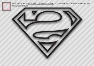 BIZZARO Sticker Decal Die Cut Superman