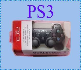 DualShock 3 Wireless Bluetooth Controller for Sony PS3  Black