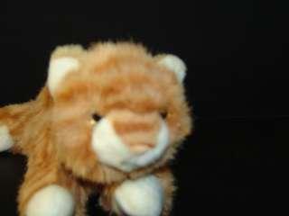 11 Plush Handmade Aurora Orange Tabby Tiger Kitty Cat Stuffed Animal