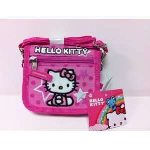 com Christmas Saving   Sanrio Hello Kitty Wallet with Shoulder Strap