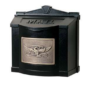 Gaines Locking Wall Mount Mailbox   Eagle Mail Box