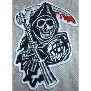 Sons of Anarchy SAMCRO SOA Embroidered 3 1/2 PATCH