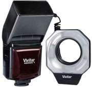 Vivitar Digital Macro Ring Light Flash for Nikon Camera