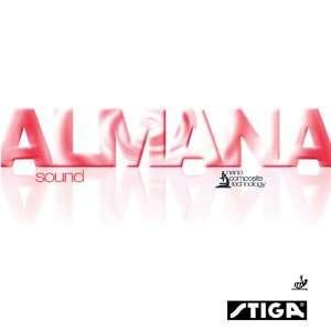 STIGA Almana Sound Table Tennis Rubber