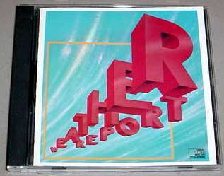 WEATHER REPORT CD   Self Titled