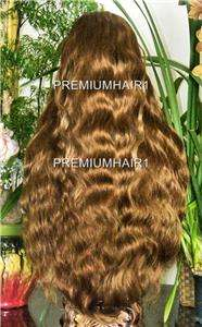 FULL LACE HUMAN HAIR INDIAN REMI REMY WIG 32 #6/30/27H