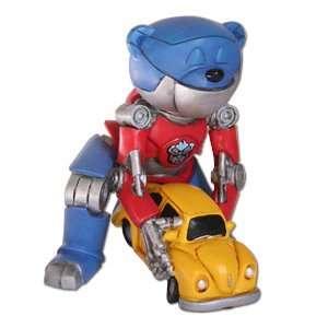 Hot Rod Transformers Autobot Bad Taste Bear Figurine