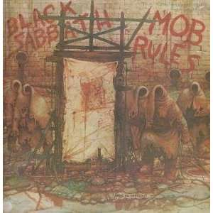 MOB RULES LP (VINYL) FRENCH VERTIGO 1981: BLACK SABBATH: Music