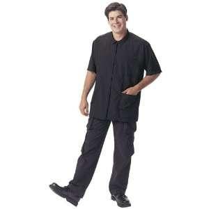 Andre 9504 Microsilk Retro Shirt, Black Beauty